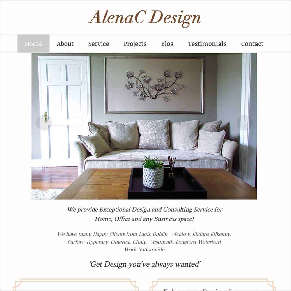 AlenaCDesign - New Website Launched