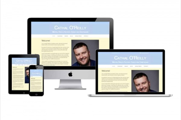 Cathal O'Reilly - New Website Launched