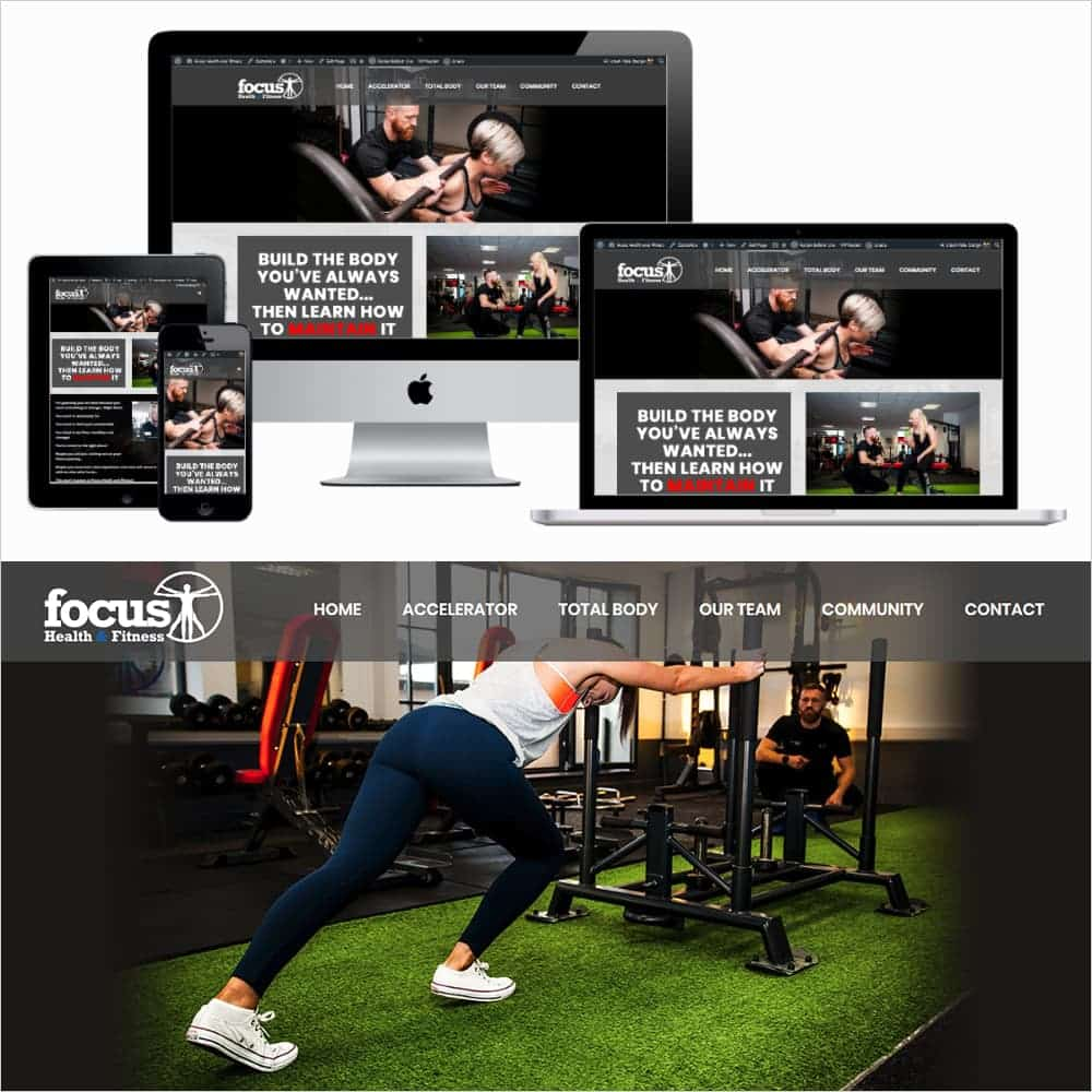 Focus Health and Fitness - New Website Launched