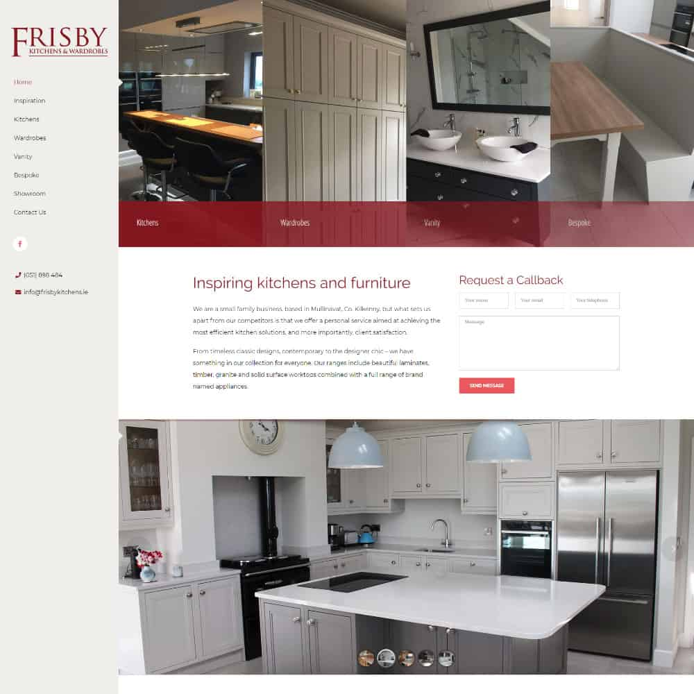 Frisby Kitchens & Wardrobes - New Website launched