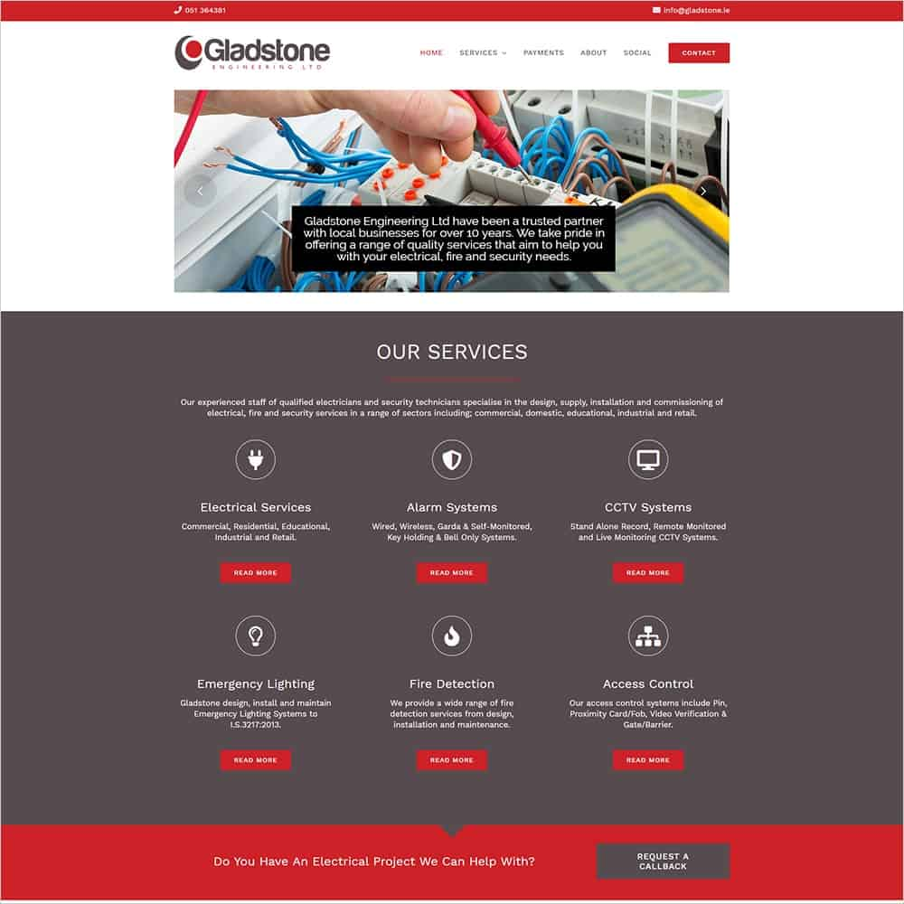Gladstone Engineering – New Website Launched