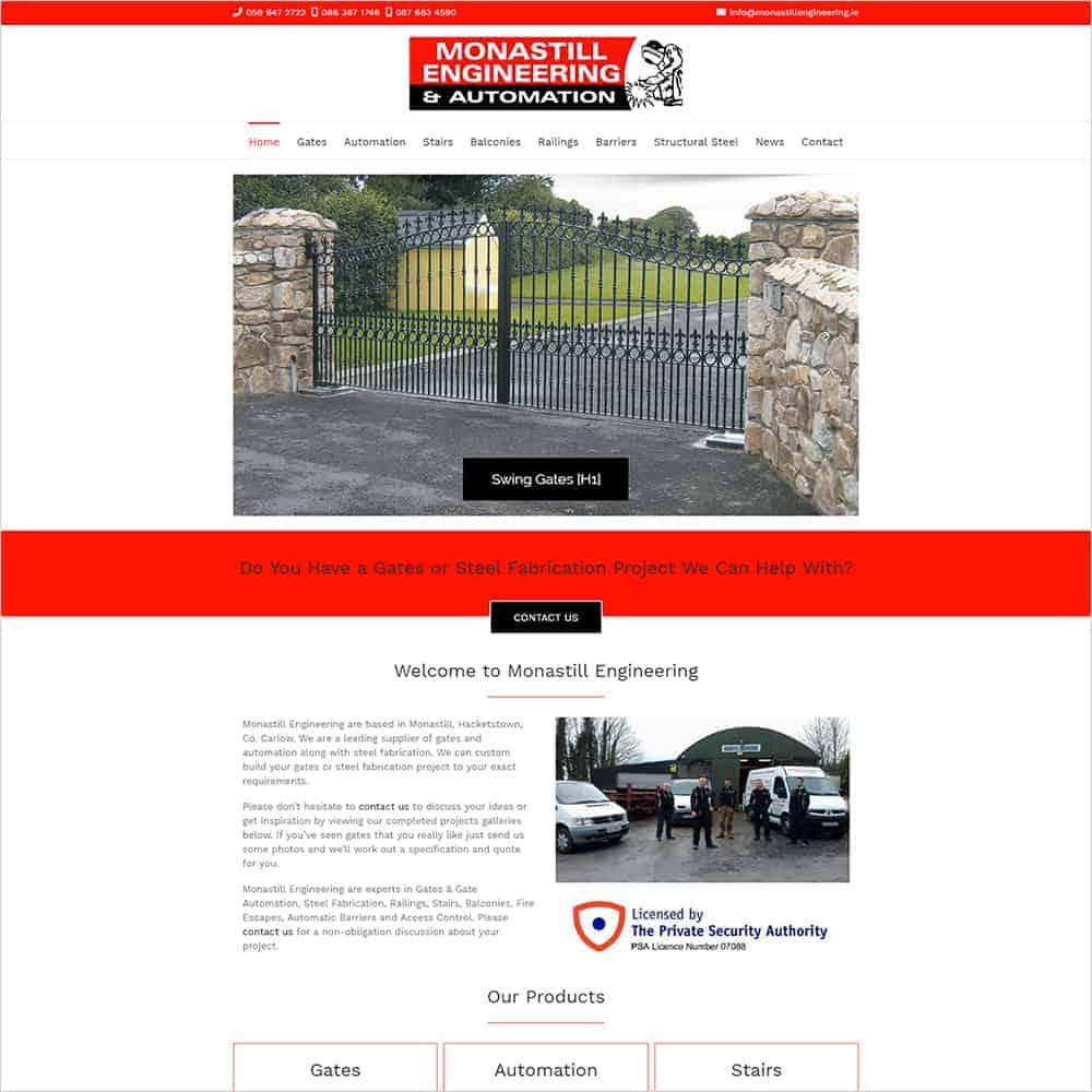 Monastill Engineering – New Website Launched