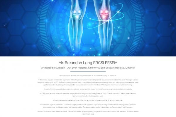 Mr. Breandán Long FRCSI FFSEM - New Website Launched
