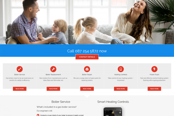Nivek Plumbing and Heating - New Website Launched