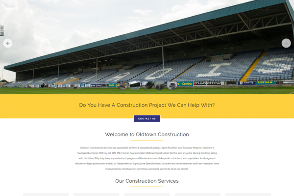 Oldtown Construction – New Website Launched